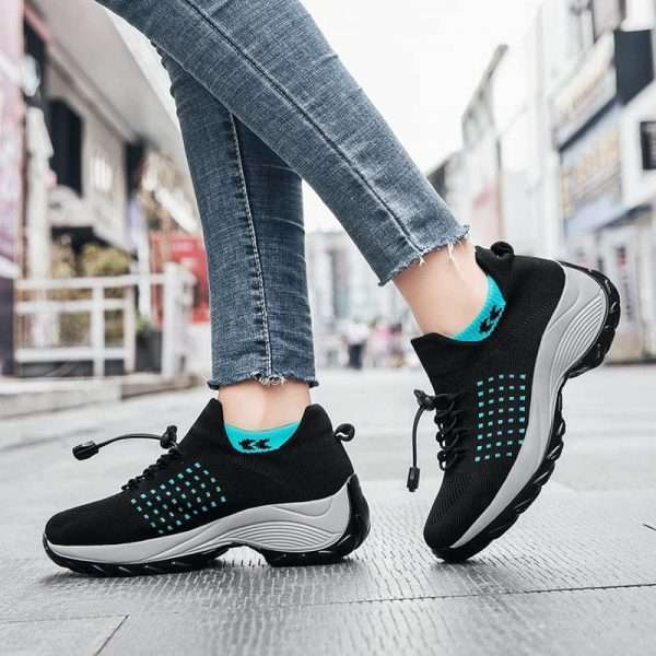 Womens Chunky sole sneakers