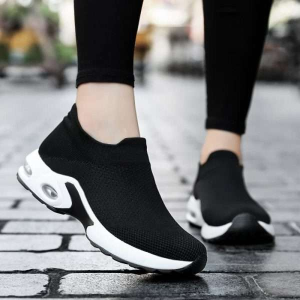 Stylish Black Sneakers for women's